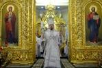 2013-01-20 Митрополит Иоанн совершил литургию в день попразднства Богоявления