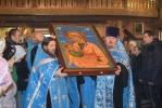2017-11-07-Приход во имя святых мучениц Веры, Надежды, Любови и матери их Софии встречает икону Божией Матери «Млекопитательница»